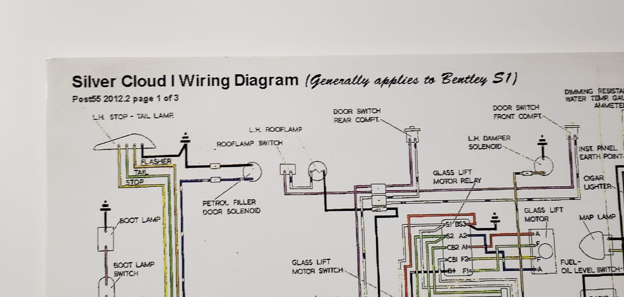 Rolls Royce Corniche Wiring Diagram